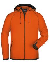 Men`s Hooded Fleece