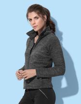 Active Melange Fleece Jacket for women